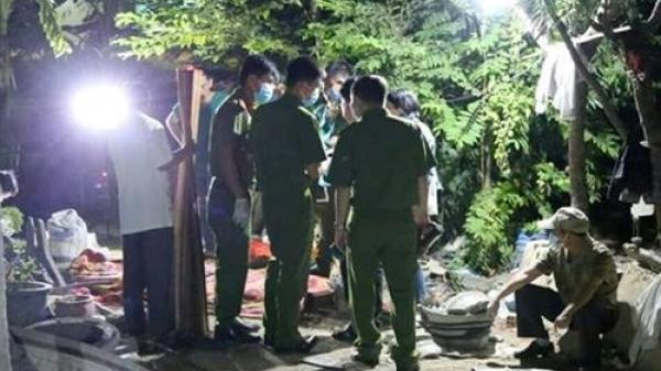 Hiện trường bé gái 10 tuổi bị sát hại, giấu xác dưới chậu kiểng tại Ninh Thuận