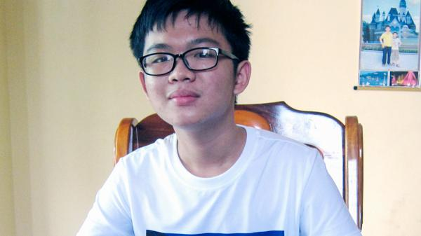 Em Vũ Đức Minh quê Ninh Thuận đạt ước mơ trở thành bác sĩ trong tương lai