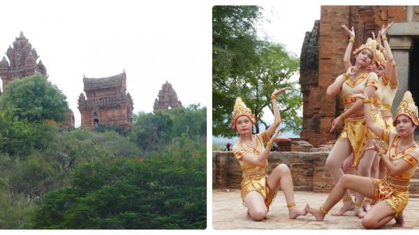 Khám phá kiến trúc độc đáo Tháp Chàm Po Klong Garai tại Ninh thuận