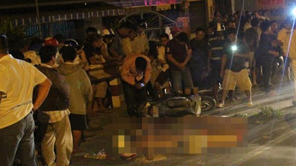 Bình Dương: Nữ phụ hồ tử vong thương tâm dưới bánh xe tải