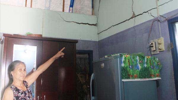 """Ninh Thuận: Hàng nghìn hộ dân """"dài cổ"""" chờ hỗ trợ nhà bị hư hỏng do thi công QL1A"""
