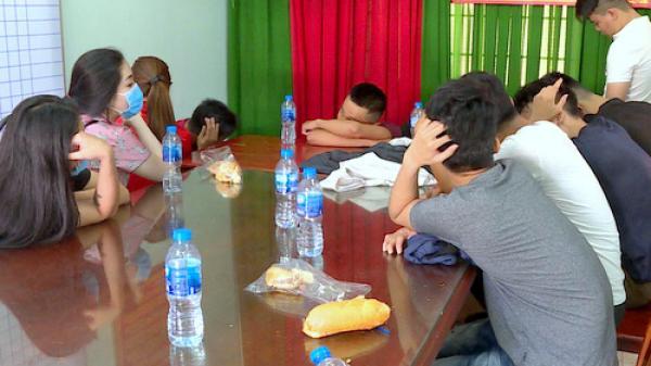 Nóng: Lại phát hiện nhóm thanh niên từ TP.Hồ Chí Minh xuống Vũng Tàu thuê nhà nghỉ tổ chức tiệc ma túy