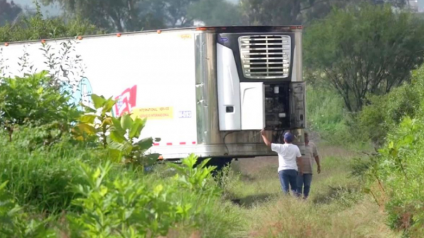 Mexico: Bàng hoàng phát hiện xe container chứa 157 thi thể đang phân hủy, bốc mùi kinh khủng