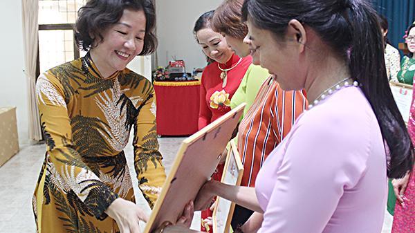 54 hội viên tham dự hội thi tìm hiểu Nghị quyết Đại hội phụ nữ các cấp
