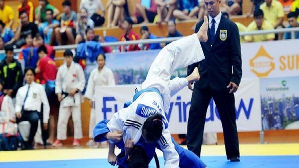 Đại hội Thể thao toàn quốc lần thứ VIII : Đoàn Bà rịa - Vũng Tàu tham gia bộ môn Judo