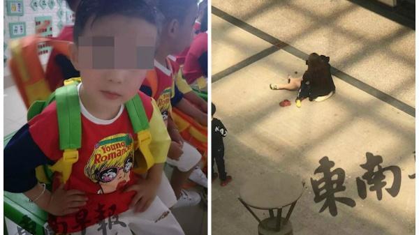 'Mẹ ơi, anh rơi rồi', bé trai chết tức tưởi trước khi đi siêu thị với mẹ