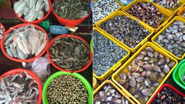Cập nhật ngay giá và điểm mua cực hời hải sản ở chợ Xóm Lưới, Vũng Tàu