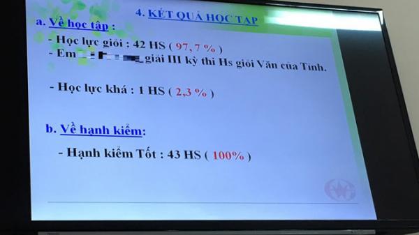 Dư luận xôn xao về lớp học có 42/43 học sinh giỏi ở Bà Rịa – Vùng Tàu