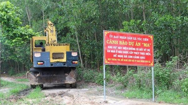 """Hậu vụ cưỡng chế dự án """"ma"""" của địa ốc Alibaba: Cảnh báo hàng loạt dự án giăng bẫy người dân"""