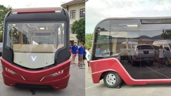 Lộ diện mẫu xe buýt siêu sang được cho là của VinFast, sắp đổ bộ ở Việt Nam