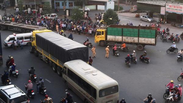 Tai nạn liên hoàn tại ngã tư Vũng Tàu, một phụ nữ tử vong