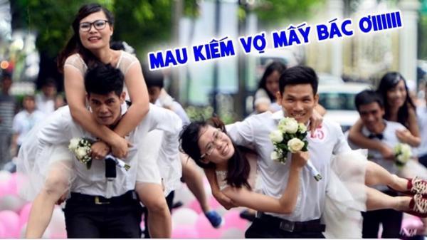 """Năm 2020 sắp tới: 1,4 triệu đàn ông Việt Nam chuẩn bị tinh thần """"ế vợ"""""""