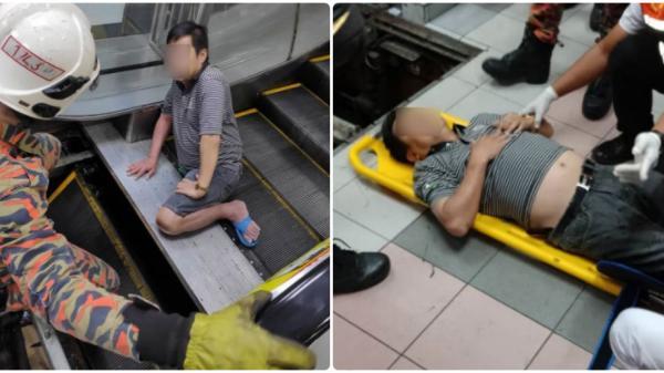 """Người đàn ông 49 tuổi bị thang cuốn """"nuốt chửng chân phải"""" vì kẹt dép lê"""