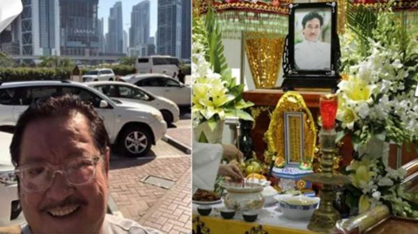 Bức ảnh cuối cùng NSƯT Nguyễn Chánh Tín đăng tải trước khi qua đời