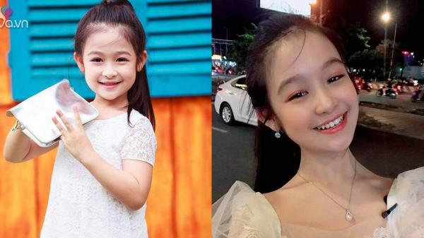 Cằm V-line bạc tỷ của bé gái chuyên đọ sắc Hoa hậu, giúp mẹ từ nhà trọ lên chung cư