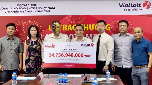 Vũng Tàu: Trao thưởng hơn 24,7 tỷ đồng cho khách hàng trúng giải Jackpot