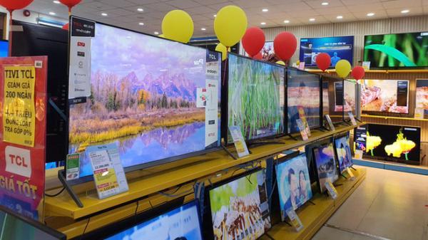 Lễ độc thân 11/11, tivi 4K màn hình lớn giảm 50%, bán rẻ chưa từng thấy