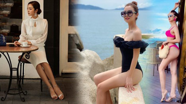 """Hoa hậu 4 con ngày thường mặc style quý phái, khi """"cởi"""" đồ kín diện bikini liền hóa gái 20"""