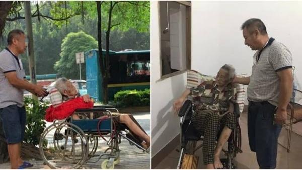 Trời tối, con trai cho mẹ 87 tuổi ra đường nằm suốt đêm sáng mới được về nhà: Vì mẹ nói nhảm