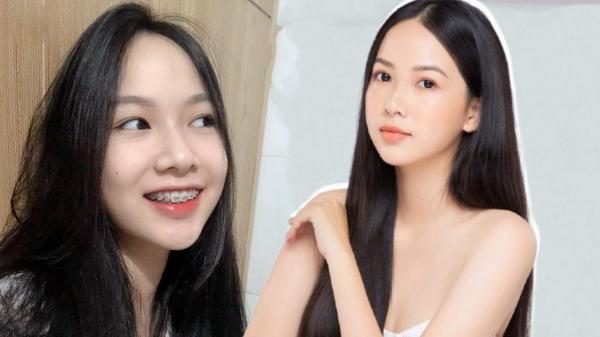 Nữ sinh 2K niềng răng xong hoá mỹ nhân, lọt thẳng bán kết Hoa hậu Việt Nam 2020