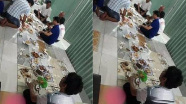 Vợ không đẻ được con trai, người đàn ông bị bắt ngồi một mình 1 mâm thẫn thờ nhìn anh em chúc rượu