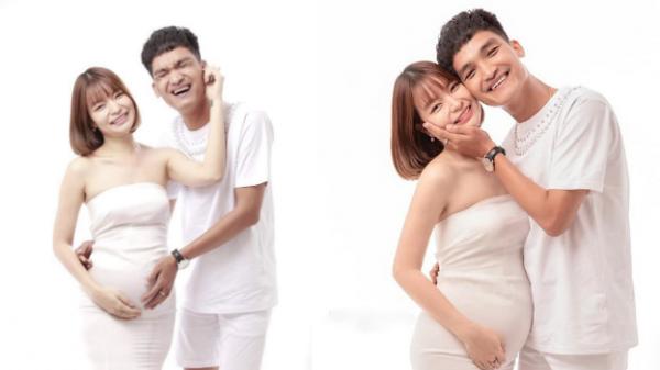 Vợ chồng Mạc Văn Khoa đón con gái đầu lòng sớm một tháng, đưa bà xã nhập viện khi cả hai đang ở Vũng Tàu.
