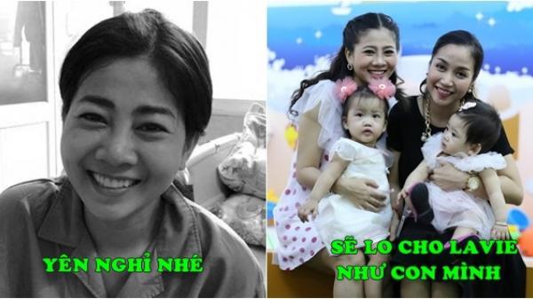 Trước khi Mai Phương qua đời vì ung thư phổi, Ốc Thanh Vân từng tuyên bố sẽ lo cho bé Lavie như con của mình