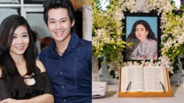 Mẹ Phùng Ngọc Huy cúng 49 ngày cho diễn viên Mai Phương