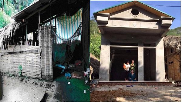 Ca sĩ Tuấn Hưng xây 2 ngôi nhà tặng 2 hộ nghèo ở tỉnh Yên Bái