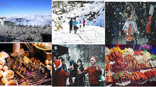 Tháng 12 này, các bạn trẻ Điện Biên sẽ có cơ hội ngắm tuyết rơi thỏa thích tại Lễ hội mùa đông Sapa 2017