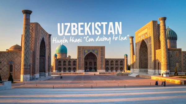 Có lẽ nhiều người không biết đất nước của các cầu thủ U23 Uzbekistan- Đối thủ trận chung kết của U23 Việt Nam nổi tiếng thế nào?