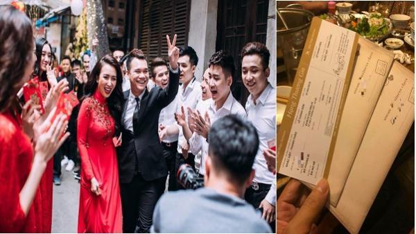 """Lộ thiệp cưới """"chuyên cơ"""" của chàng ca sĩ đa tài Yên Bái- Khắc Việt và bạn gái DJ"""