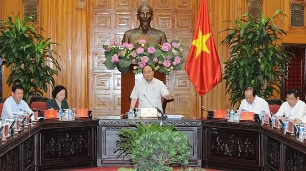 Thủ tướng Nguyễn Xuân Phúc chủ trì cuộc họp với lãnh đạo chủ chốt sáu tỉnh miền núi Tây Bắc