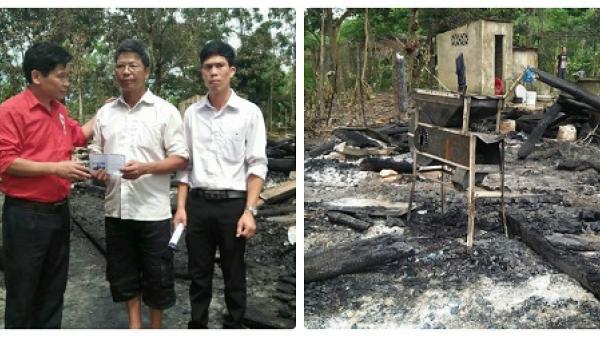 Yên Bái: Chập điện bất ngờ khiến ngôi nhà cháy rụi hoàn toàn