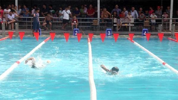 Giải bơi lội các câu lạc bộ tỉnh Yên Bái năm 2017