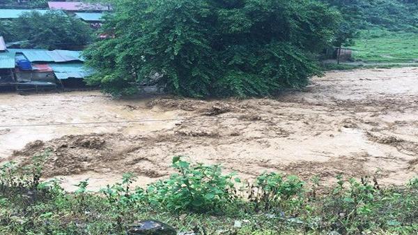 Dự báo thời tiết 26/6: Nước lũ tiếp tục lên, mực nước sông Thao Yên Bái lên nhanh