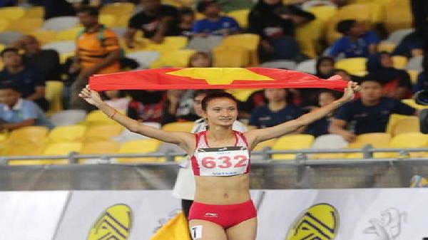 Vũ Thị Ly - cô gái Yên Bái xuất sắc giành HCV cho điền kinh Việt Nam tại SEA Games 29
