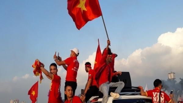 Tỉnh Yên Bái Tổ chức xem chung kết AFF Cup tại quảng trường 19/8