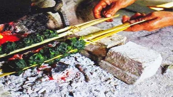 Rêu suối: Món ăn đặc sắc của người Mường Lò