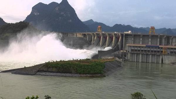 Mưa lớn lại đe doạ an toàn hồ chứa khu vực Bắc bộ