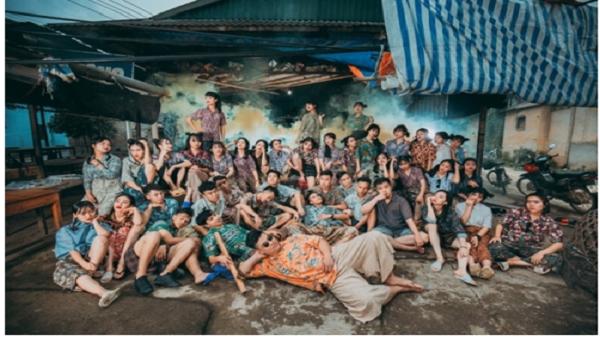 Bộ ảnh kỷ yếu 'xóm chợ xưa' của học sinh Yên Bái gây sốt