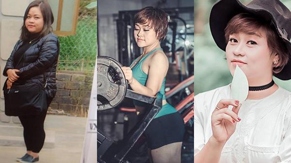 """Nặng tới 120kg, cô gái """"sumo"""" ở Yên Bái lột xác ngoạn mục khi giảm liền... 65kg trong 5 tháng"""