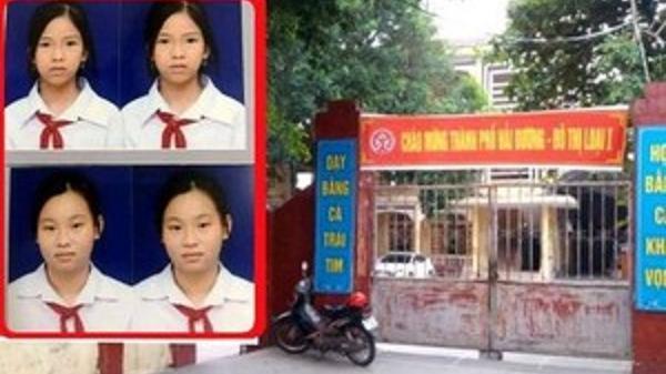 Đã tìm thấy hai nữ sinh lớp 6 mất tích ở Hải Dương