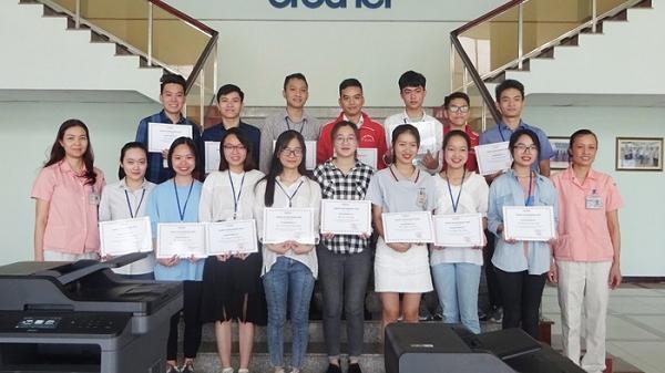 15 sinh viên người Hải Dương nhận học bổng Brother