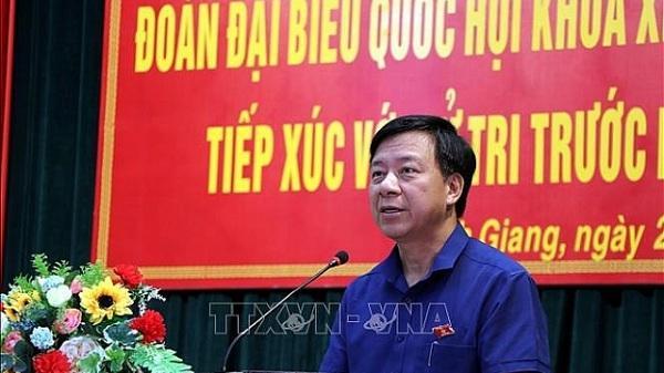 Chân dung tân Phó Bí thư Tỉnh uỷ Hải Dương Phạm Xuân Thăng