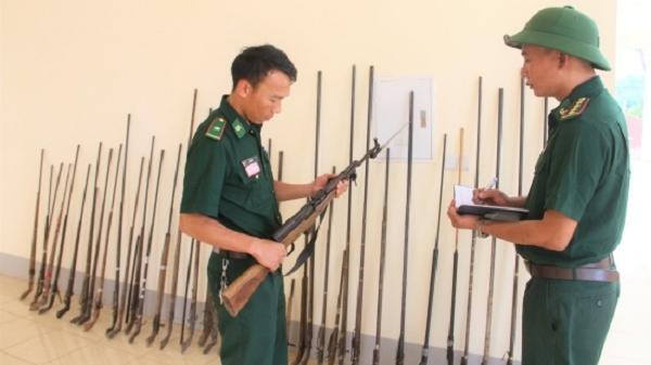 Điện Biên: Vận động nhân dân giao nộp vũ khí, vật liệu nổ