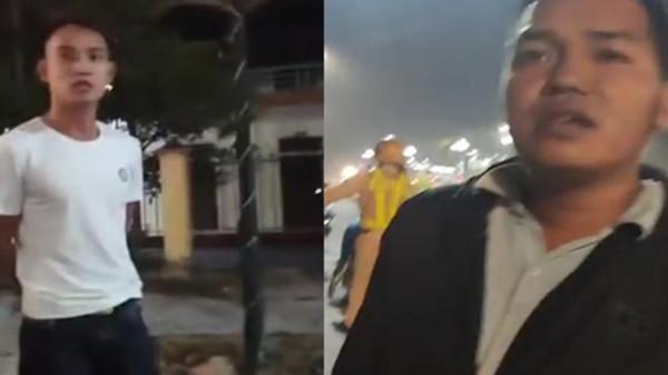 Quay clip CSGT ở Hưng Yên làm nhiệm vụ bị 2 người lạ đe dọa, bắt xóa