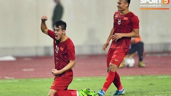 Tuyển Việt Nam 1-0 UAE: Tiến Linh sút xa đẳng cấp