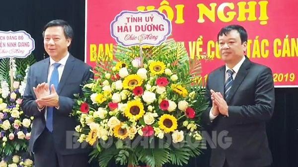 Ninh Giang có Bí thư Huyện ủy mới