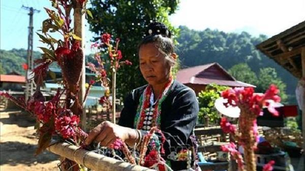 Tết Hoa mào gà của dân tộc Cống được công nhận Di sản văn hóa phi vật thể Quốc gia